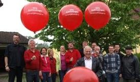 So startete die SPD Gottmadingen 2009 in Wahlkampf zur Kommunalwahl.